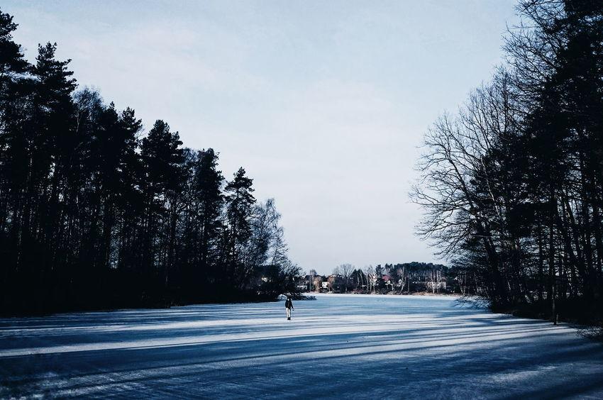 Winter Vscocam Poland XPERIA Season  EyeEm Nature Lover Its Cold Outside EyeEm Best Shots Rsa_nature Rsa_minimal Rsa_water Minimalpeople VSCO Seasonscollection
