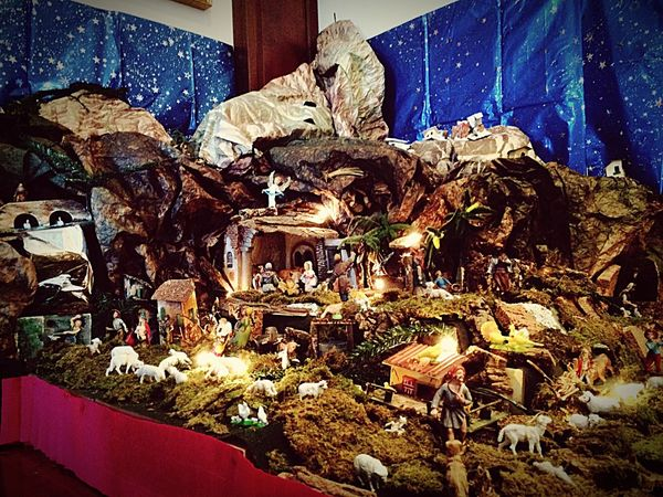 Christmas Home Sweet Home Presepe