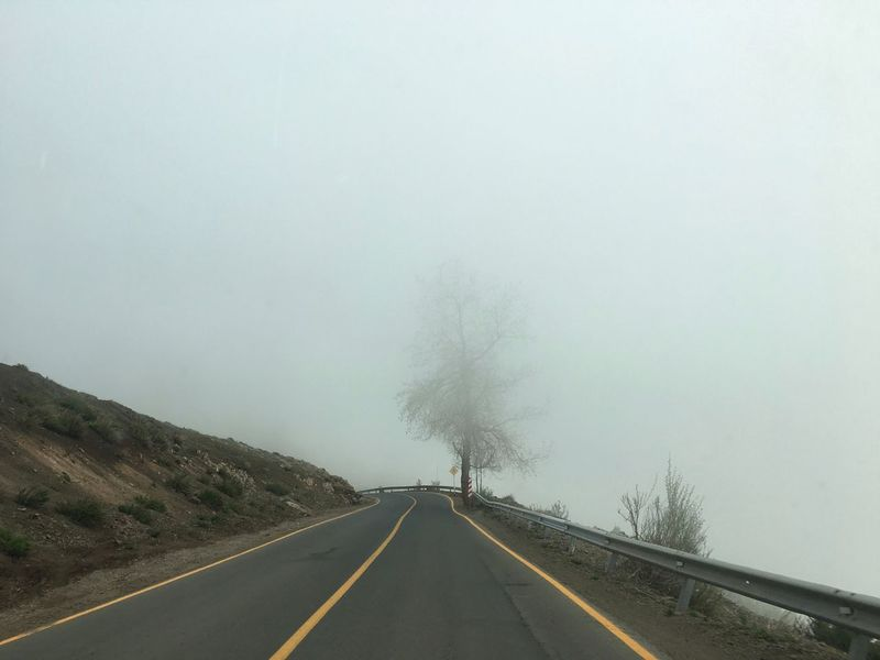 iPhone 6s Clear Sky Copy Space Country Road Countryside Day Diminishing Perspective Dividing Line Empty Road Journey Long Mist No People Non-urban Scene Outdoors Remote Road Road Marking Scenics Solitude The Way Forward Tranquil Scene Tranquility Transportation Vanishing Point White Line