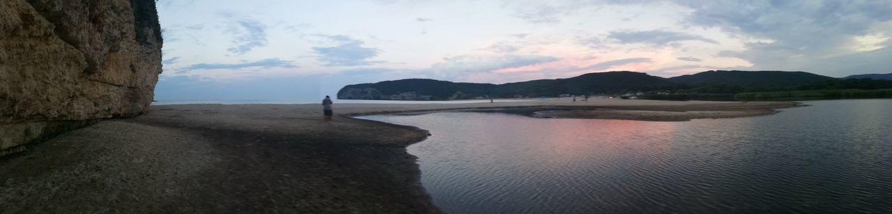 Water Mountain Tree Lake Beach Reflection Sky Landscape Cloud - Sky