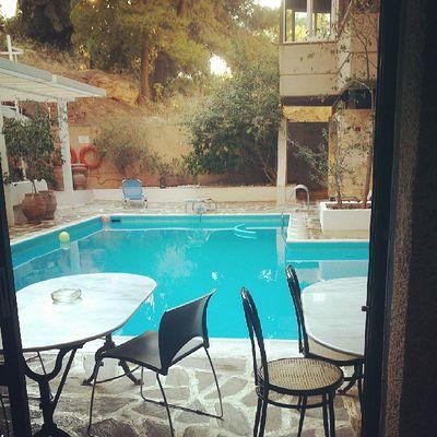 Greece Summer Relaxing Colours Swimmingpool Hotel Varkiza Outdoors