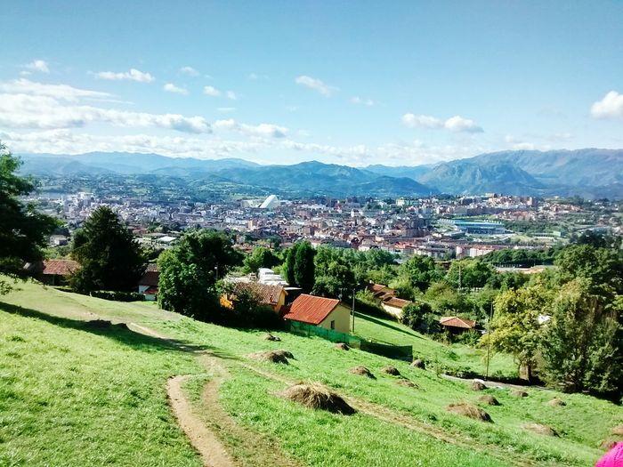 Vista de Oviedo desde Santa María del Naranco Landscape Motog Motorolaphotography Nature And City