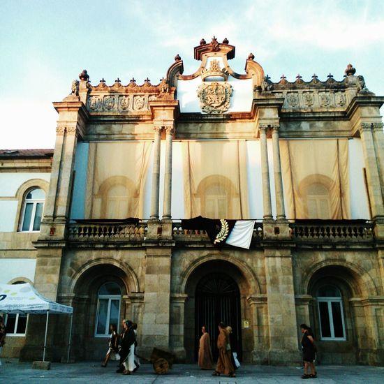 Lugo Galicia SPAIN ARDE LUCUS
