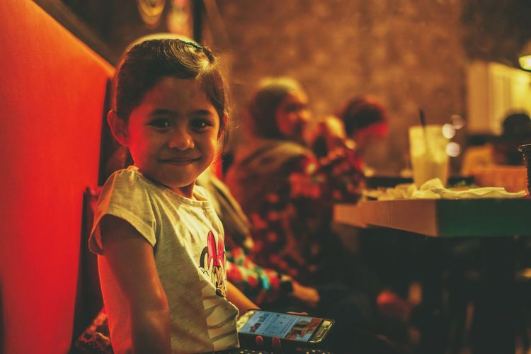 Smile HUAWEI Photo Award: After Dark Portrait Child Childhood Smiling Looking At Camera Women Occupation Boys Females