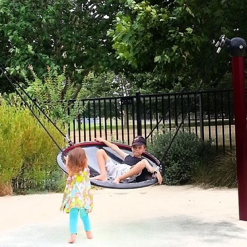 At the park Speerspoint Sun Siblings Love greatfun myeverything