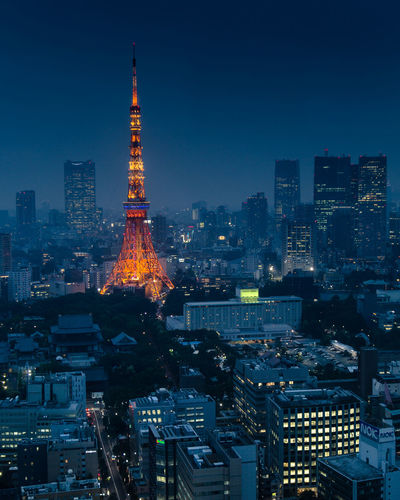 Tokyo lights Skyscraper Urban Skyline City Modern Tower Cityscape Night Illuminated Architecture Building Exterior Travel Destinations Sky Futuristic No People Outdoors Tokyo,Japan