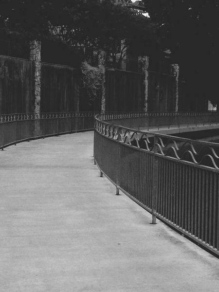 Leading Lines Rails Pathway Blackandwhite Satx