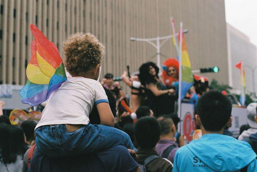 台北 LGBT Rainbows Taipei Taiwan Taiwan LGBT Pride 台灣同志旅行 台灣 Lgbt Canon F-1 セクマイ