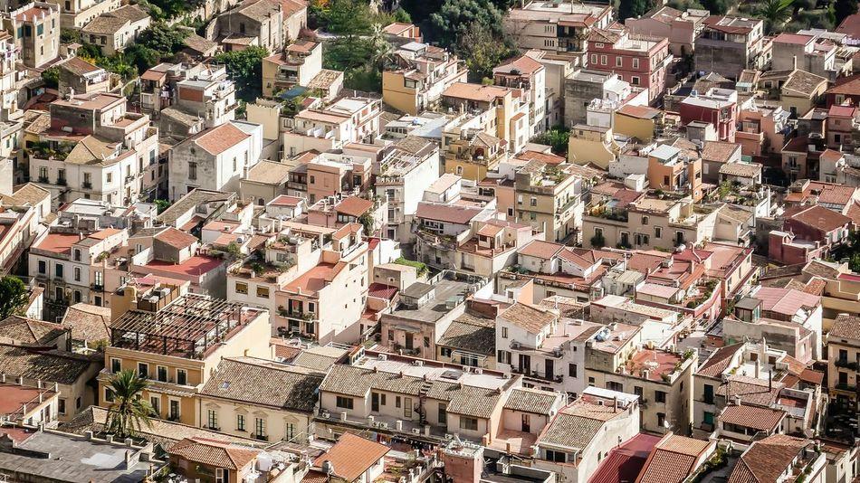 From The Rooftop at Taormina Sicily Italy. Taormina Love Sicily Italy
