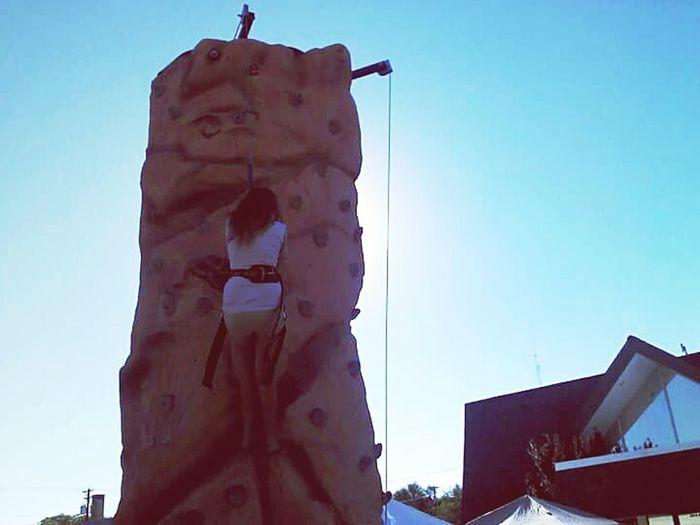 Idaho State Fair Hippykid Kreatives Wall Climber Rock Wall Rock Climbing Pastel Power