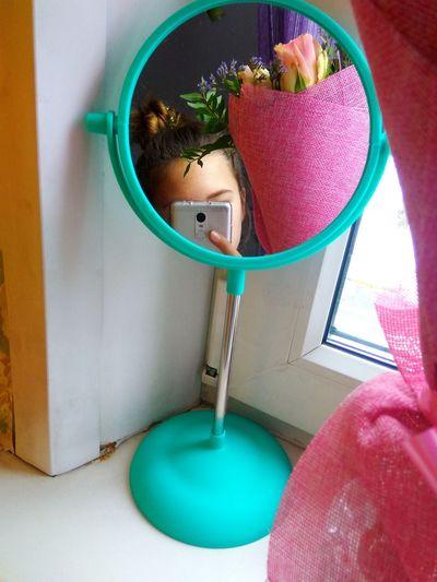 Flower Mirror Window Selfie ✌ зеркало 8 March 8 марта цветы букет зеркало окно пучок EyeEm Selects Close-up