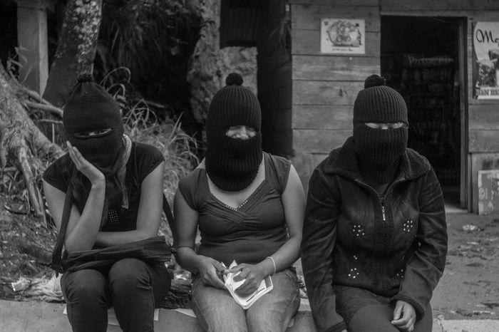 EZLN Mujeres Zapatistas Woman Portrait Of A Woman B&W Portrait Mexico Portrait Canon Photography