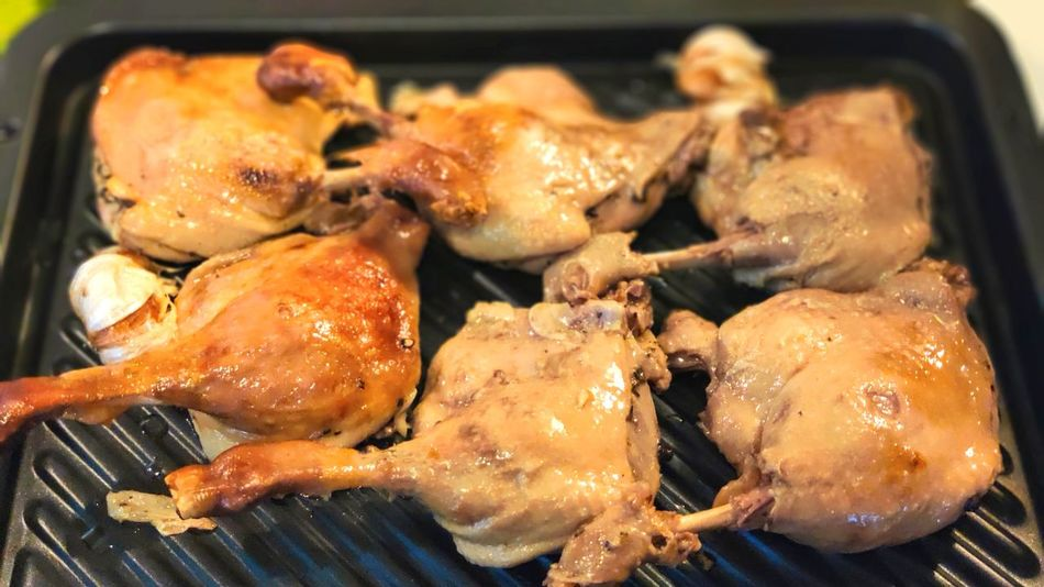 Broiling duck legs French Food Delicious Dinner Meal Meal Prep Duck Confit Broil Duck Legs Charming Heat - Temperature