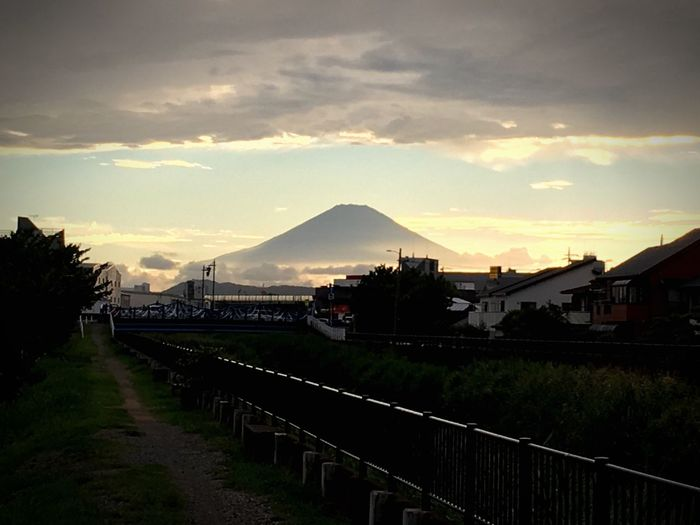 Iphonephotography Mt.Fuji Clouds And Sky Cloudy Japan