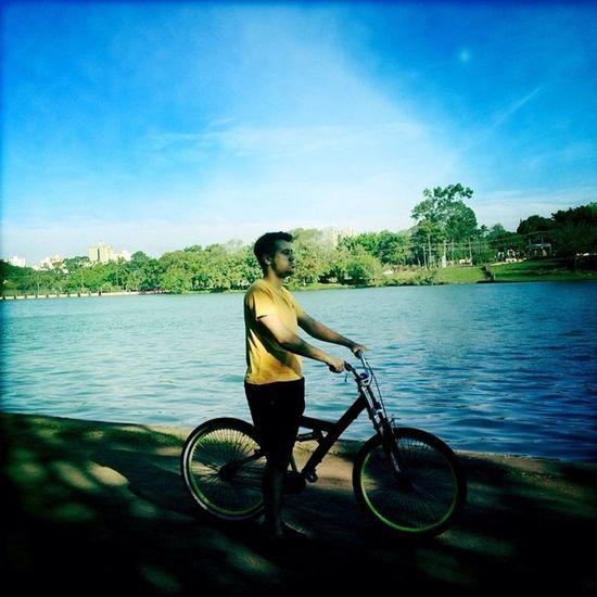 Role de hoje foi da hora Rolê Bike Hipstamatic Hipstamaticphoto Photo Analogic