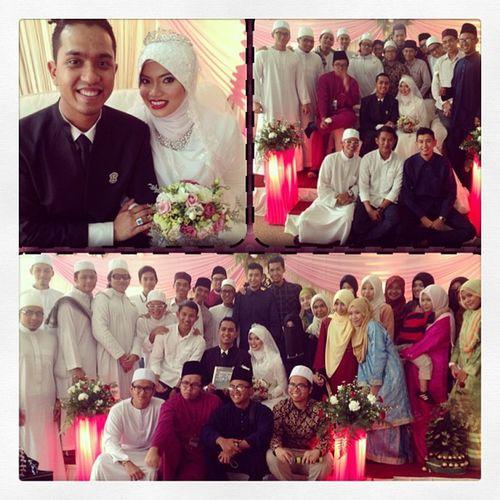 Selamat pengantin baru @ministry_of_selawat & @norwiyah .. Walimahseries