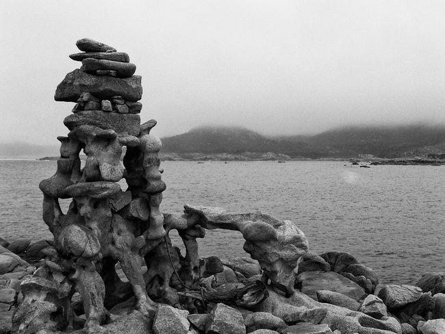 In Memorian Manfred Gnädinger Black & White Monochrome Blanco Y Negro Blackandwhite Stone Fog Galicia SPAIN