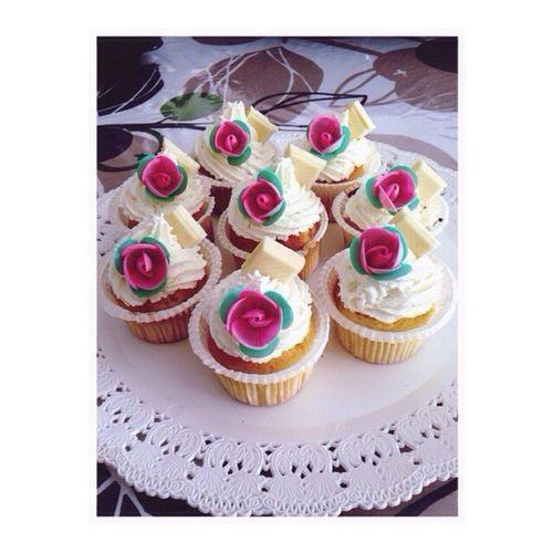 Cupcake al cioccolato bianco..✌️😋😋 Goodafternoonpeople