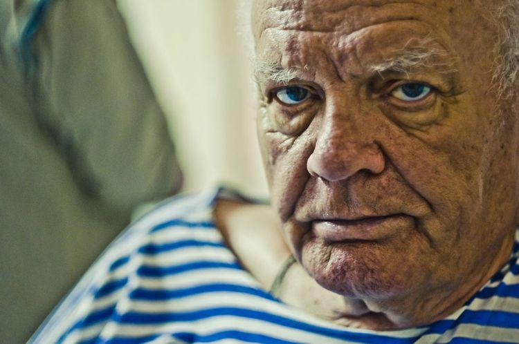 Face Man Grandad Portrait