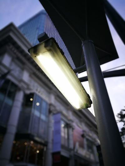 Bangkok Thailand Lamp Low Angle View Architecture Built Structure No People Day Building Exterior Outdoors Sky Illuminated