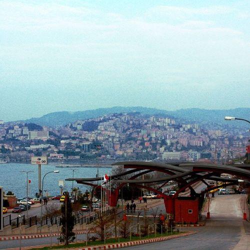 Zonguldak Port City Beü landscape