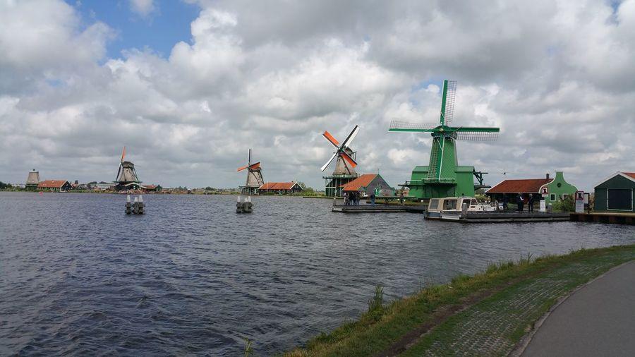 Water Windmills Holland The Great Outdoors - 2017 EyeEm Awards