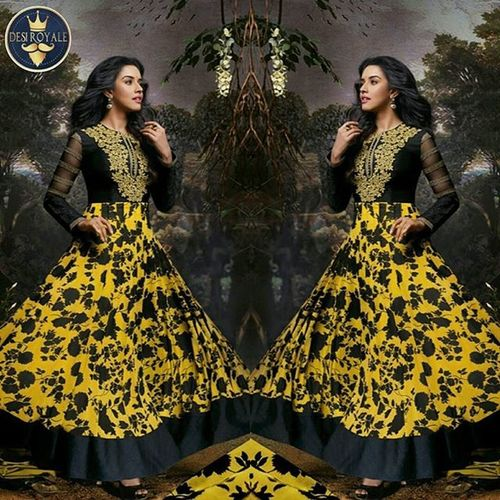 https://www.desiroyale.com/collections/newarrivals/products/black-and-yellow-printed-designer-anarkali-suit-with-dupatta Desi Wedding Punjabi Picoftheday Photooftheday Instagood Instacool Sardarni Desiweddings Indiansuit Gift Bridal Fashion Necklace Color Clutchbag Earrings Love Sale Colors Colour Vaisakhi Anthropologie Zara Urban art earthday earth naturelovers