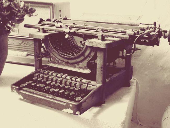 Typemachine in Lanzarote. First Eyeem Photo