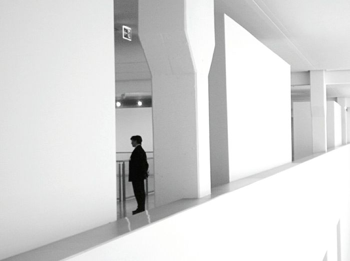 Day 255 - Exhibition Berlin Blackandwhite Exhibition Art Lines 365project 365florianmski Day255