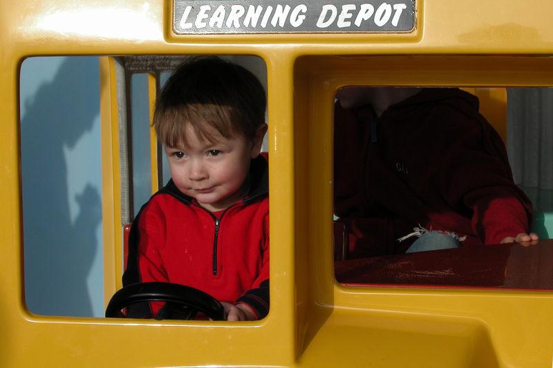 Absent Boys Bus