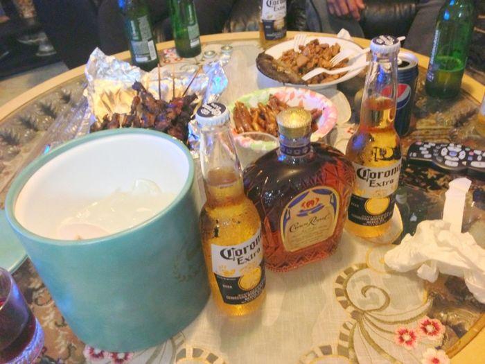 Beer BBQ Drinking Crown Royal