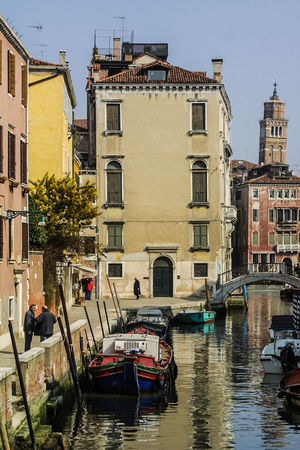 Venedig, Ohne Touristen, Lagune, Frühling, Venice, WithoutTourists, Springtime, City, Sea, Water, Historical, Old Town Building Exterior Canal Mode Of Transport Outdoors Transportation Travel Destinations Water Waterfront
