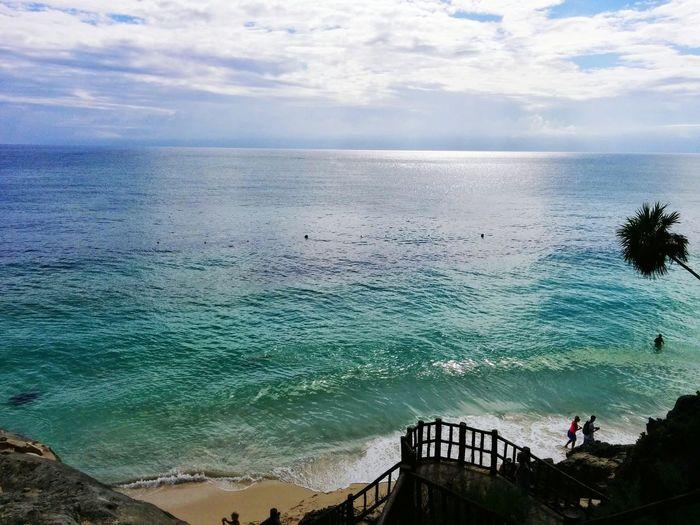 Beautiful Beach Ocean Really Blue Water First Eyeem Photo