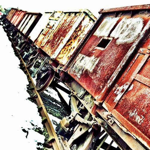 Coal wagons... Iphoneonly Iphoneagram Iphoneartist Industrial instagrammer coalpitscoalminingphoto photographer