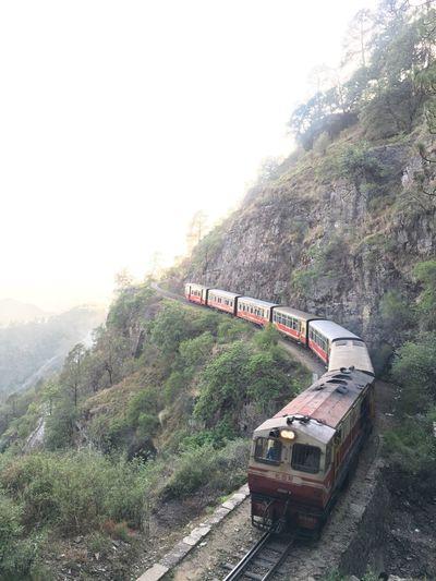 Himalayas ShimlaKalkaRailway NorthernRailways Train ShimlaTrain Heritagesite ShimlaTrain