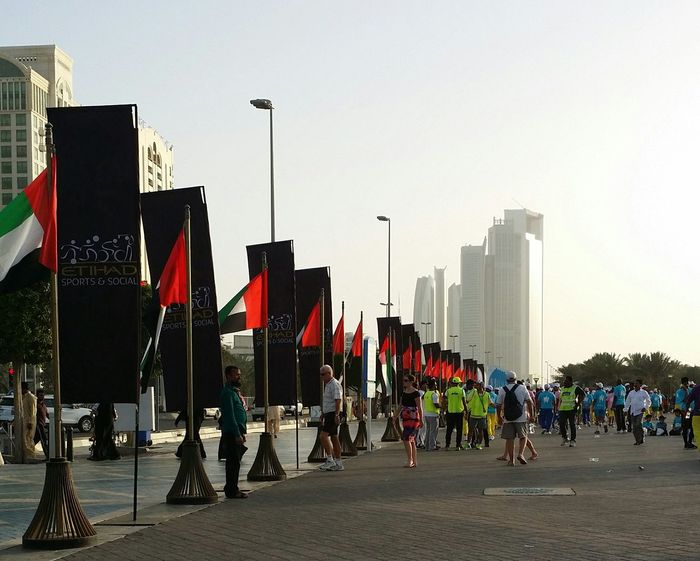 Uae,abudhabi Etihadairways 3rd Annual Charity Event Run For A Cause Cityscapes Outdoor Photography