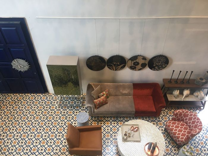 Furniture India Tile Pattern Floor Tiles EyeEm Selects Indoors  No People Home Interior Architecture Furniture Wall - Building Feature Large Group Of Objects Collection Chair