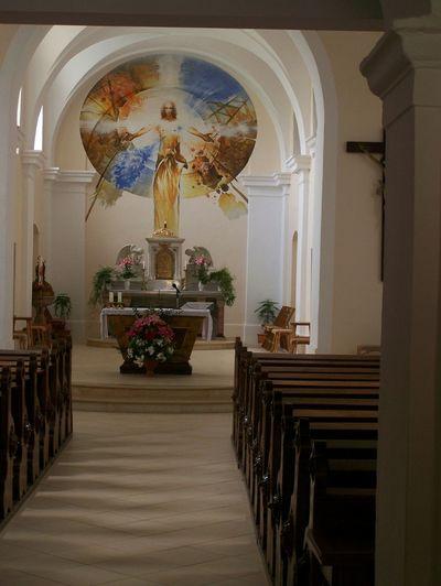 Church Catholic Kunstat Jesus