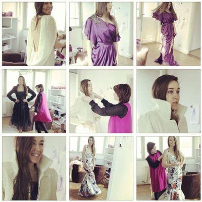 ArtaDobroshi and her beautiful personality TBT  Drenushaxharra POTD ootd spring fashion fashiondesign fashiondesigner instgram igdaily igers