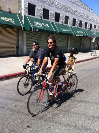 Cycling Bicycle CicLAVia Going For A Ride