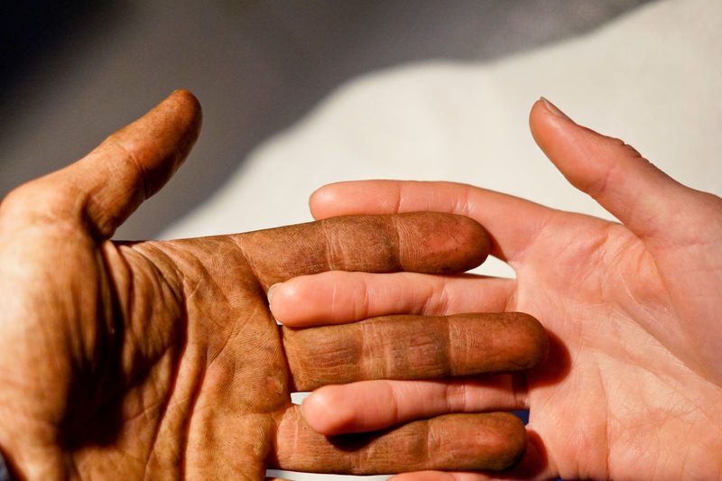 Working Adult Body Part Close-up Dirt Dirty Dirty Fingers Dirty Hands Finger Focus On Foreground Gesturing Hand Human Body Part Human Finger Human Hand Indoors  Men One Person Real People Senior Adult Showing Studio Shot Success Unrecognizable Person Working Hands This Is My Skin