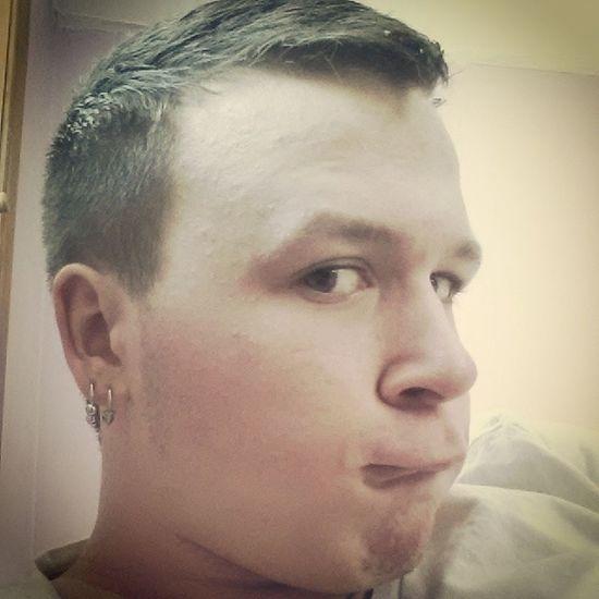 New hair cut New Eh Ok Looksgood crying holow fohawk bird duck animal like