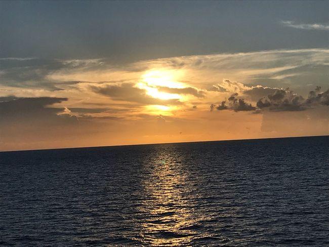 Antz nothing else Sunset EyeEm Best Shots Sunset Sky Water Sea Beauty In Nature Scenics - Nature Cloud - Sky Horizon Sunlight Orange Color Tranquility