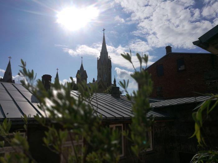 Oldtown Church Sunlight ☀ Goodday ♡