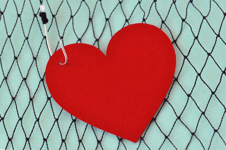 Heart on fish