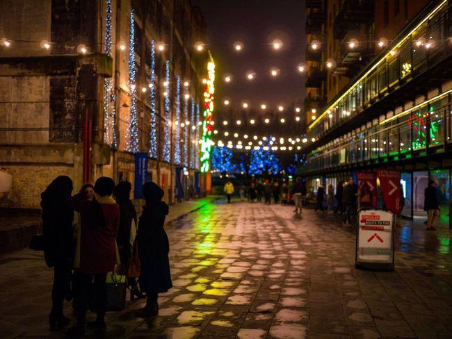 Night Reflections - London Lumiere 2018 EyeEmReady EyeEm Best Shots Night Celebration Illuminated People Adult City Adults Only