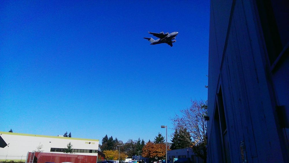 Boeing C-17 Taking Photos Smartphonephotography HTC One Lakewood Check This Out Pacific Northwest  Precision Engineering