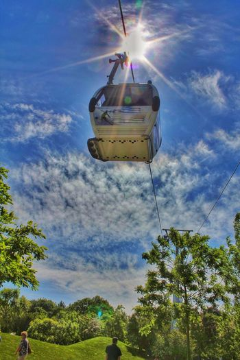 HDR Netherlands Cable Railway Funicular Park Landscape_Collection Check This Out Enjoying Life Perspective Clouds And Sky Walking Around Hi!