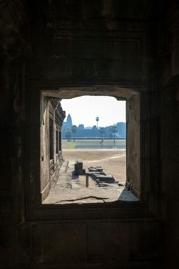 Portals... Architecture Built Structure History Travel Destinations No People Day Indoors  Sky Arch Angkor Wat Angkor Wat, Cambodia Cambodia Historical Monuments Ancient Ruins Ancient Architecture