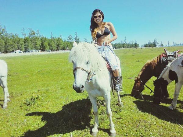 Mongolia Mongolia Khuvsgul Summer Felicità
